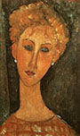 Amedeo Modigliani : Woman with Earrings 1917 : $255