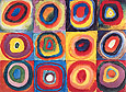 Wassily Kandinsky : Concentric Squares and Circles 1913 : $295