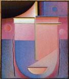 Alexej von Jawlensky : Looking Within - Rosy Light : $259