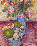 Alexej von Jawlensky : The Blue Vase : $265