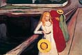 Edvard Munch : Girls on the Jetty : $259