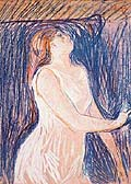 Edvard Munch : Sketch of the model : $269