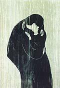 Edvard Munch : The Kiss : $265
