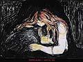 Edvard Munch : Vampire 1895 : $290