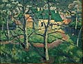 Kasimir Malevich : House with Green Roof : $265