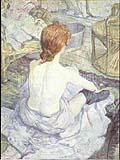 Henri Toulouse Lautrec : La Toilette : $255