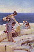 Sir Lawrence Alma Tadema : Silver Favourites : $325