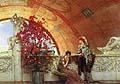 Sir Lawrence Alma Tadema : Unconscious Rivals : $345