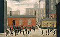 L-S-Lowry : Coming out of School 1927 : $289