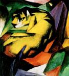 Franz Marc : Tiger : $265