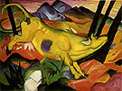 Franz Marc : The Yellow Cow : $259