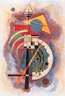 Wassily Kandinsky : Hommage a' Grohmann : $269