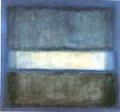 Mark Rothko : No 27 Light Band White Band 1954 : $269