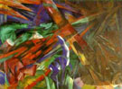 Franz Marc : Fete of the Animals : $249