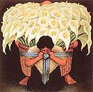Diego Rivera : Calla Lily Vendor : $259
