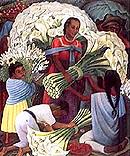 Diego Rivera : The Flower Seller : $285