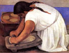 Diego Rivera : la Molendera (The Grinder) 1924 : $257