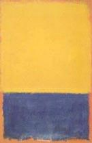Mark Rothko : Yellow and Blue : $269