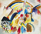 Wassily Kandinsky : Landscape with Red Spots No. 2  1913 : $275