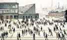 L-S-Lowry : The Football Match : $249