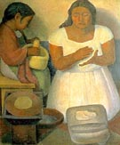 Diego Rivera : The Tortilla Maker : $255
