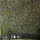Gustav Klimt : The Park 1910 : $269