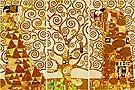 Gustav Klimt : L Albero Della Vita (3 canvases) : $440