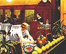 Edward Hopper : Tables for Ladies, 1930