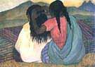 Diego Rivera : Women Combing Hair : $269