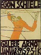 Egon Schiele : Self-Portrait as St Sebastian 1914 : $249