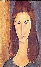Amedeo Modigliani : Portrait of Jeanne Hebuterne : $269