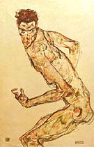 Egon Schiele : Fighter 1913 : $263
