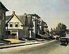 Edward Hopper : Street Scene, Gloucester