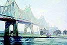 Edward Hopper : Queensborough Bridge 1913 : $275