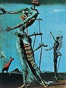 Salvador Dali : The Burning Giraffe 1937 : $279