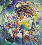 Wassily Kandinsky : Red Square 1916 : $249