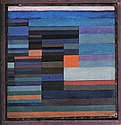 Paul Klee : Fire in the Evening  1929 : $249
