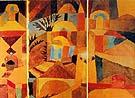 Paul Klee : Il Giardino del Tempo : $275