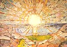 Edvard Munch : The Sun 1909 : $279