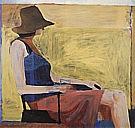 Richard Diebenkorn : Seated Figure with Hat  1967 : $269