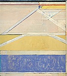 Richard Diebenkorn : Ocean Park No 126  1984 : $265