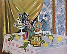 Matisse : Still Life Fruit and Flowers 1925 : $275