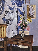 Matisse : Greek Torso and Bouquet of Flowers 1919 : $269