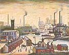 L-S-Lowry : Canal & Factories : $259