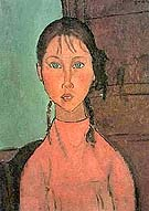 Amedeo Modigliani : Girl In Pink : $269