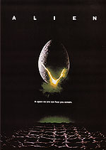 Classic-Movie-Posters : ALIEN, RIDLEY SCOTT, 1979 : $275