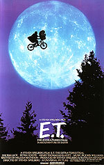 Classic-Movie-Posters : E.T. THE EXTRA-TERRESTRIAL, STEVEN SPIELBERG, 1982 : $269