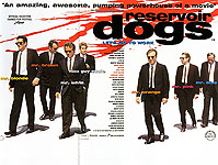 Classic-Movie-Posters : RESERVOIR DOGS, QUENTIN TARANTINO, 1992 : $395