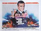 James-Bond-Movie-Posters : Never Say Never Again, 1984 : $325