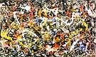 Jackson Pollock : No. 10 Convergence 1952 : $275
